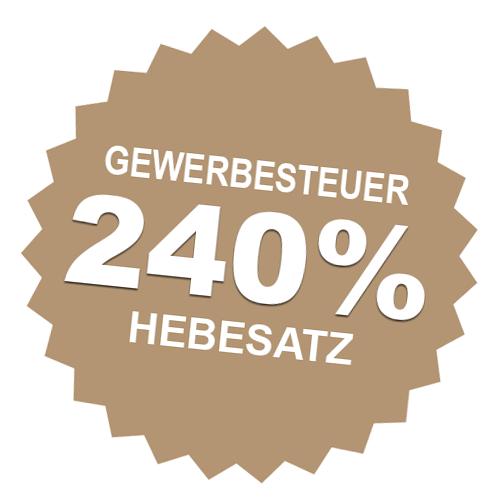 Hebesatz 240% Bad Wörishofen